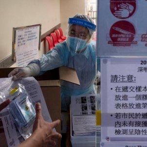 coronavirus hong kong - efe