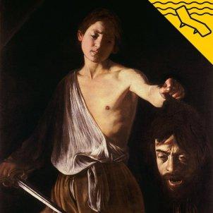 David amb el cap de Goliat - Caravaggio - La Gandula
