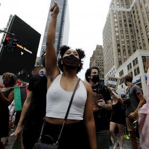 protesta nova york antiracisme wiesonsin efe