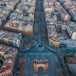 Imatge aèrea de Barcelona. Foto: Unsplash