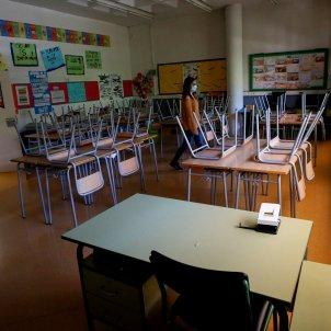 Escola tancada / EFE