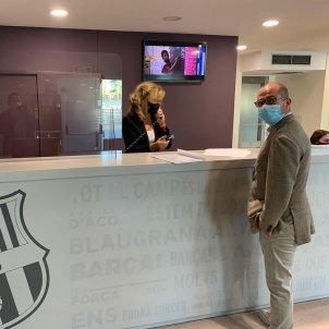 Jordi Farre oficines FC Barcelona @jordifarrefcb