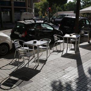 terrassa terrasses taules borera bar restaurant covid-19 coronavirus - Sergi Alcàzar