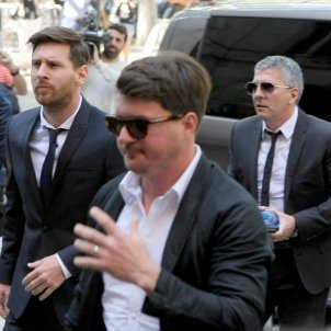 Leo Messi pare Jorge GTRES