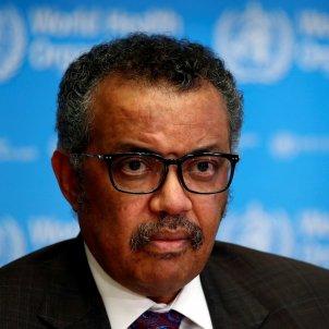 El director general de l'Organització Mundial de la Salut (OMS) Tedros Adhanom Ghebreyesus acn