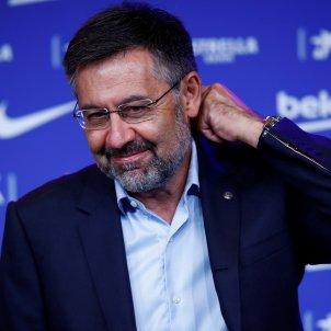Josep Maria Bartomeu, president del Barça FC Barcelona somriure EFE