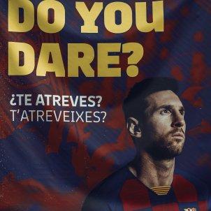 Cartell Messi Barca EuropaPrress
