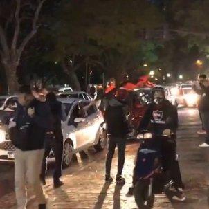protesta Argentina Messi captura