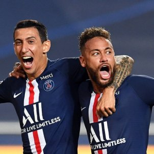 Neymar Dimaria PSG final champions - Efe
