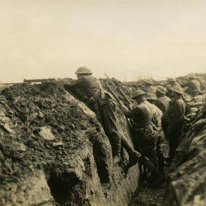Soldats Nova Zelanda I Guerra Mundial Trinxera Somme (NZ Archives)