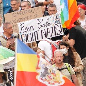 berlin manifestació antivacunes coronavirus EFE