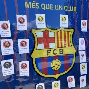 Tsunami Blaugrana papers Bartomeu Museu Camp Nou @TsunamiCuler