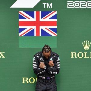 Lewis Hamilton Formula 1 Spa Francorchamps Wakanda Forever EFE