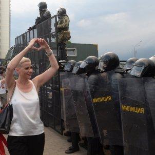 manifestaciones bielorússia efe
