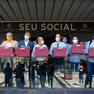 Barca mocio censura eleccions contra Bartomeu EFE