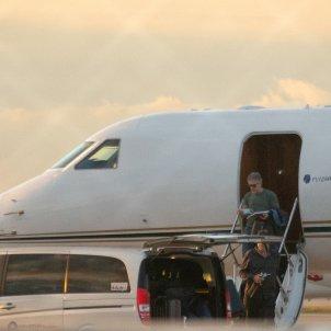 Jorge Messi aeroport reunio Barcelona avio EFE