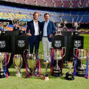 Rakitic Bartomeu Barca titols comiat @FCB