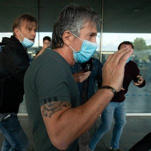 Jorge MEssi pare messi aeroport de Barcelona - Efe