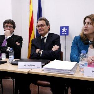Carles Puigdemont, Artur Mas i Marta Pascal ACN