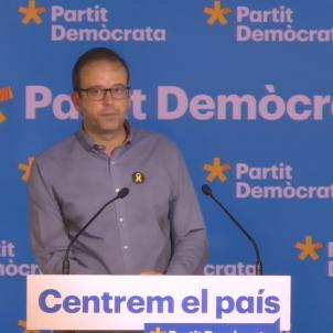Marc Solsona, protaveu del PDeCAT