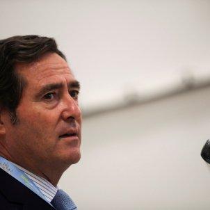 El president de la CEOE, Antonio Garamendi. Foto: Efe/David Fernández/Arxiu