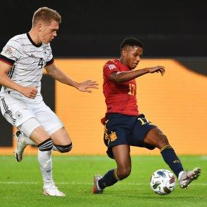 Ansu Fati seleccio espanyola Alemanya Nations League EFE