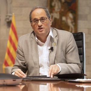 Quim Torra reunió presidents 4 setembre Ruben Moreno