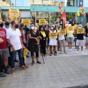 Jutjat Figueres tall Jonquera concentració suport ACN