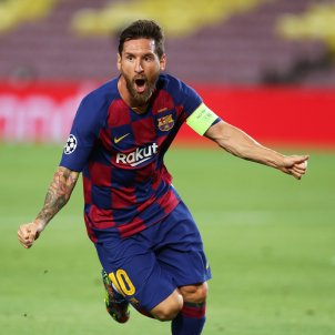 Leo Messi Nápoles