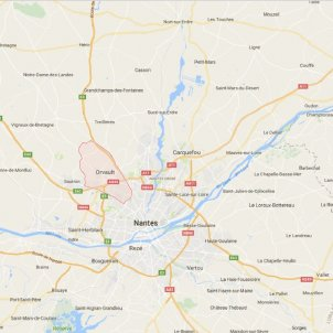 nantes google maps