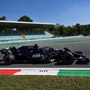 Lewis Hamilton formula 1 mercedes monza efe