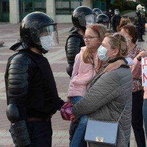 manifestacio oposició dones bielorússia - efe