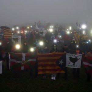 reivindicacio catalano-basca al Tour de França ANC - Twitter@Gure_Esku