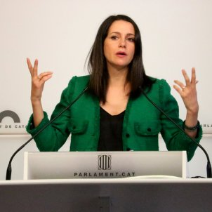 Inés Arrimadas Parlament. ACN