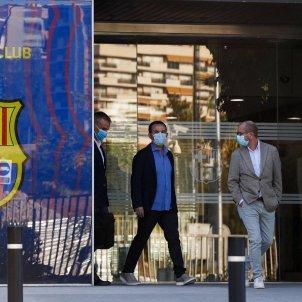 Barca impulsors mocio censura Bartomeu Barcelona EFE