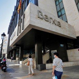 Imatge presa divendres passat a la seu social de Bankia. Foto: Efe