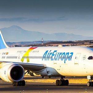 Un avión de la compañía Air Europa en un Aeropuerto. Foto: Europa Press