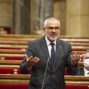 Sessio de control Carlos Carrizosa Ciutadans Parlament mascareta - Sergi Alcàzar