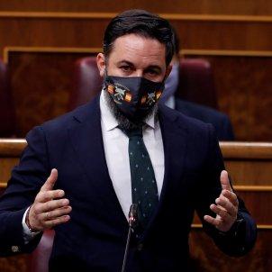 Santiago Abascal mascareta Desperta Ferro! EFE