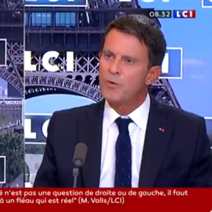 Manuel Valls televisió LCI