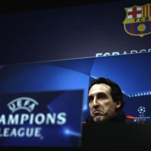 Unai Emery PSG Champions LEague Efe