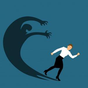 Mujer con miedo Pixabay