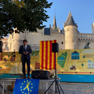 Puigdemont Anvers Diada Homenatge Independentisme  ANCBrussel·les
