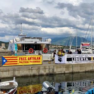 Protesta Sánchez Còrsega C.Solidaritat