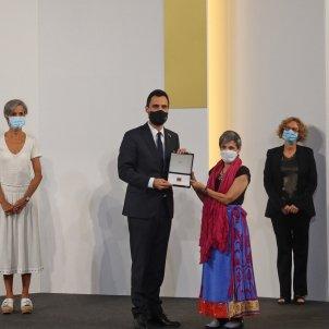 Entrega medalla honor parlament torrent sanitaris coronavirus - ACN