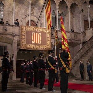 mossos de gala senyera acte institucional diada 10 setembre - ACN