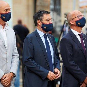 Josep Maria Bartomeu Jordi Moix Jordi Cardoner EFE