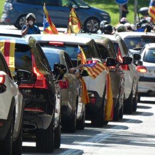FOTOS LECTORS_Imatge de la manifestació motoritzada de Terrassa_Xavi Ordeix