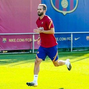 Miralem Pjanic entrenament Barça FCB