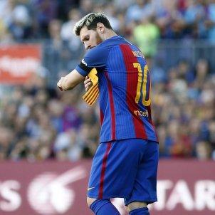 Leo Messi braçalet capità Barça EFE